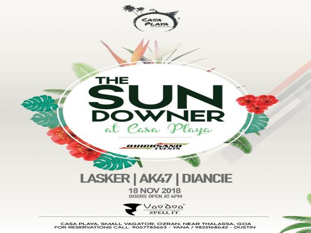 The Sundowner at Casa Playa18th November 2018