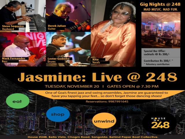 Jasmine: Live @248