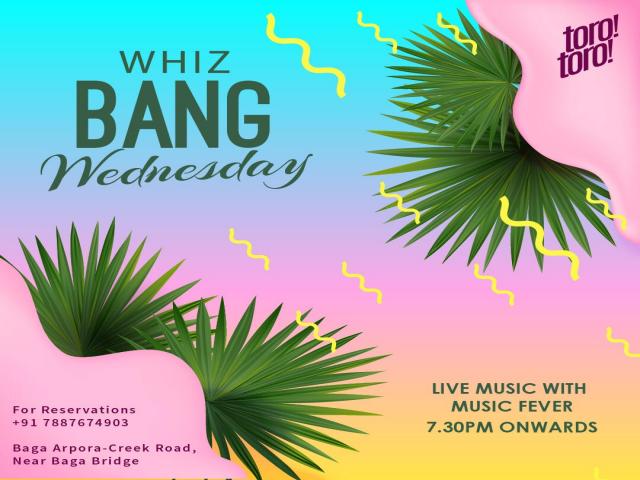 Whiz Bang Wednesdays 21st November 2018