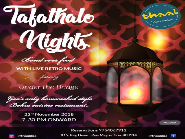 Tafathalo Nights 22nd November 2018