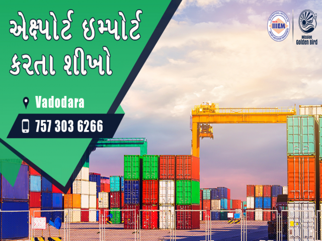 Start Setup Your Own Import and Export Business - Vadodara