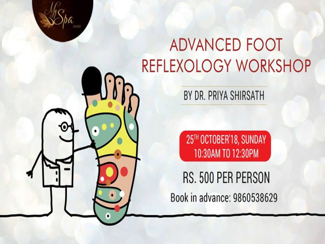 Advanced Foot Reflexology Workshop by Dr. Priya Shirsath
