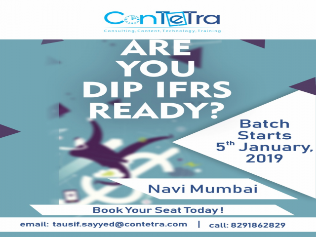 Enroll now for DIP IFRS Batch on 5th January, 2019
