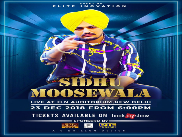 Sidhu Moose wala Live