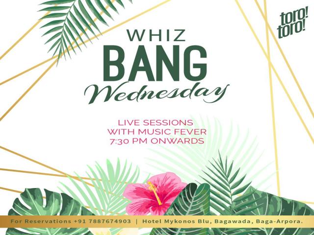 Whiz Bang Wednesdays 28th November 2018