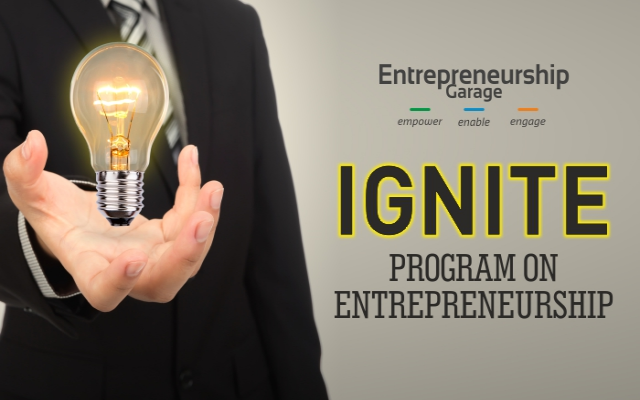 Ignite program on entrepreneurship