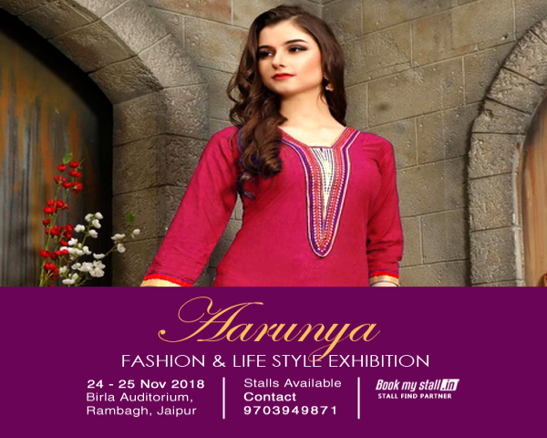 Aarunya Fashion and Life Style Exhibition Jaipur - BookMyStall