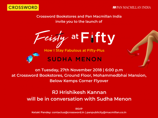 Feisty at Fifty by Sudha Menon