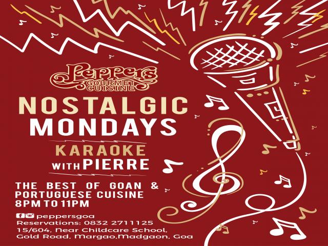 Nostalgic Mondays with Pierre 26th November 2018