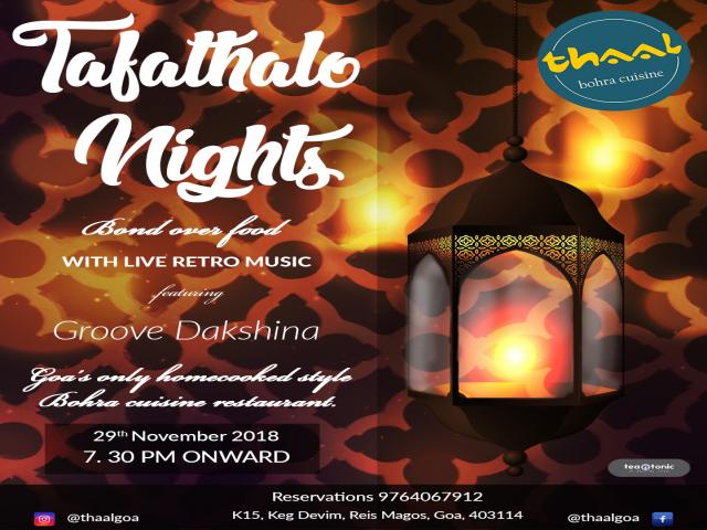 Tafathalo Nights 29th November 2018