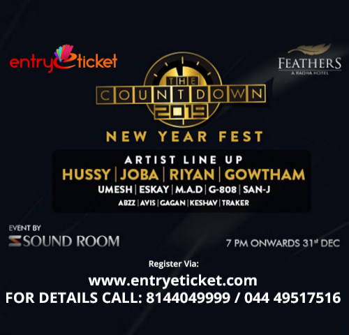 The Countdown NYE party 2019  | Entryeticket