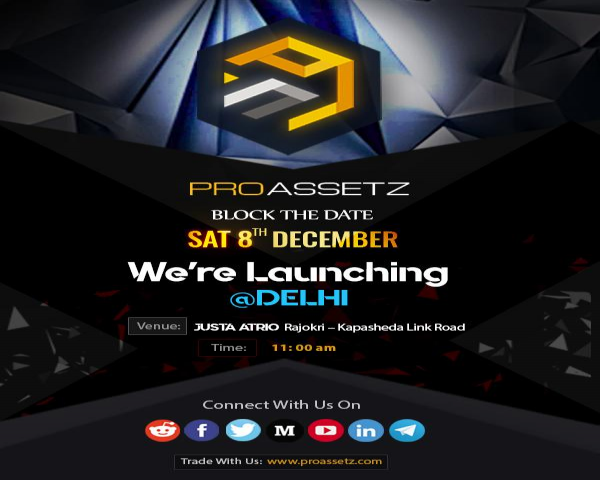 Proassetz Blockchain and Fintec Meetup- Delhi