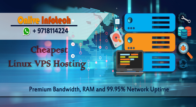 New Event Cheapest Linux VPS server is Best Option by Onlive Infotech