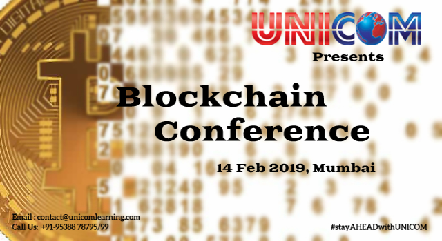 Blockchain Summit 2019 - Mumbai