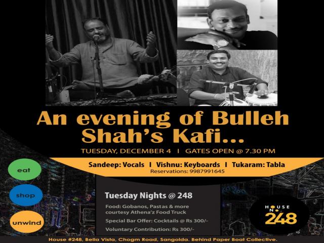 An evening of Bulleh Shah's Kafi