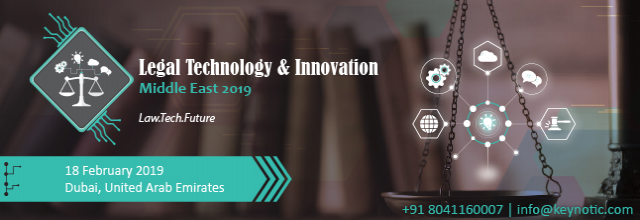 Legal Technology and Innovation Forum 2019