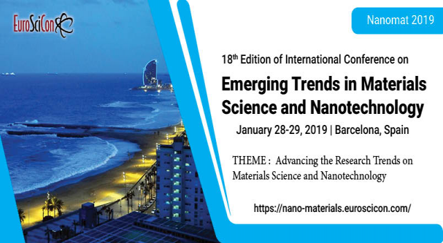 18th Edition of International Conference on  Emerging Trends in Materials Scienc