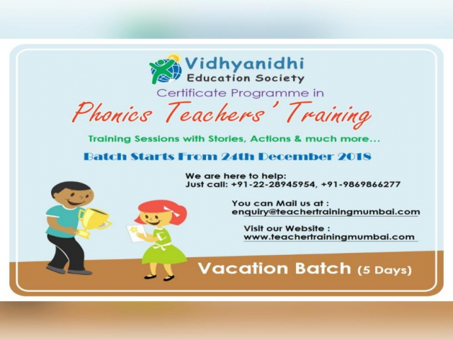 Phonics Teacher's Training