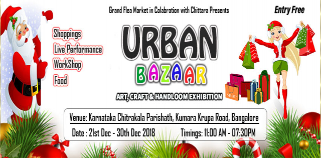 Urban Bazaar- Art, Craftand Handloom Exhibition