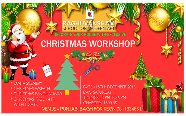 Merry Christmas Workshop