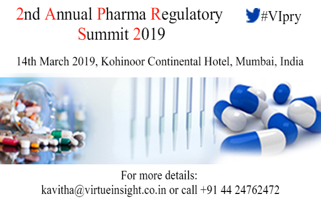 2nd Annual Pharma Regulatory Summit 2019