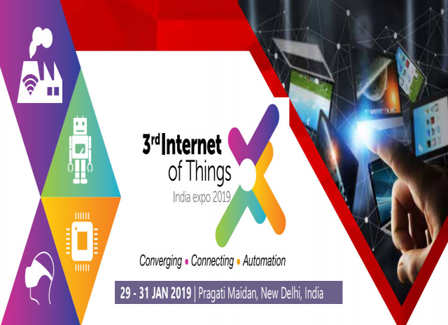 3rd Internet Of Things India Expo 2019