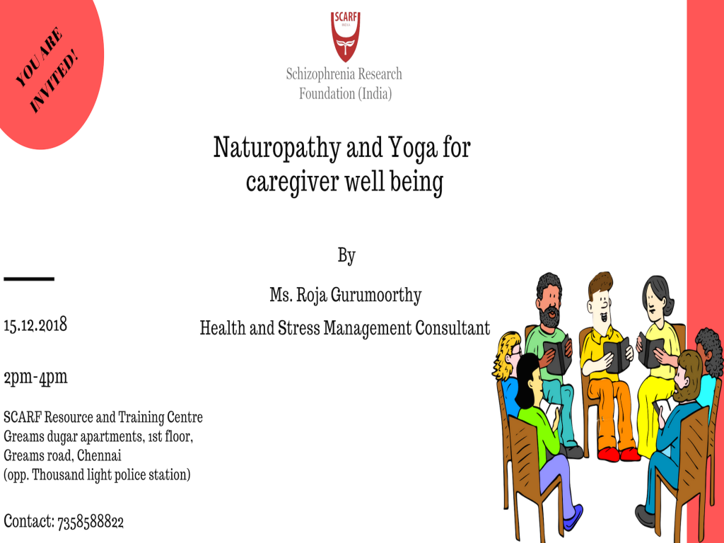 Naturopathy and Yoga for caregiver well being