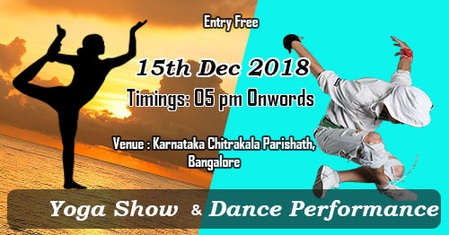 Yoga show and Dance Performance