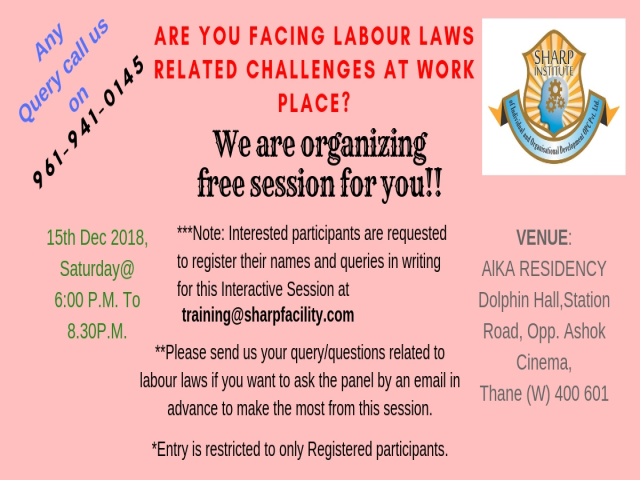 LABOUR LAWS RELATED CHALLENGES AT WORK PLACE