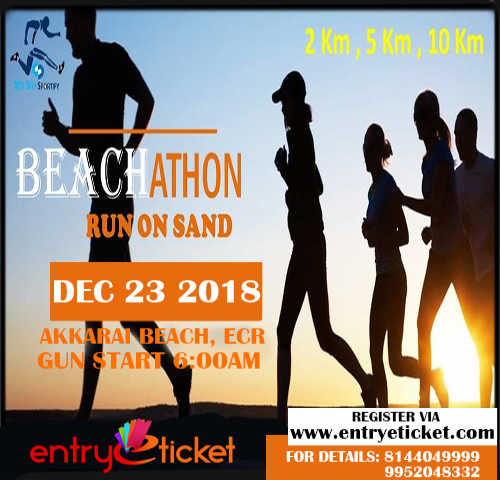 Beachathon Run On Sand | Entryeticket