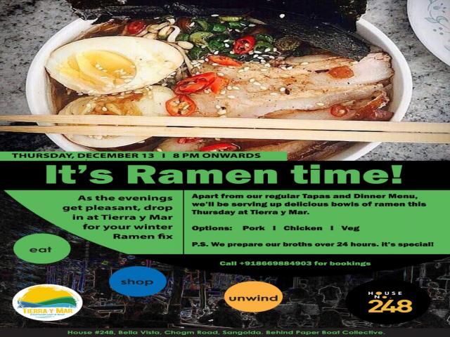 Its Ramen time!