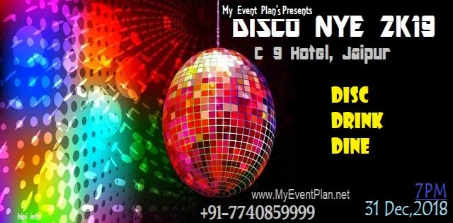 MyEventPlan's Presents DISCO NYE 2K19