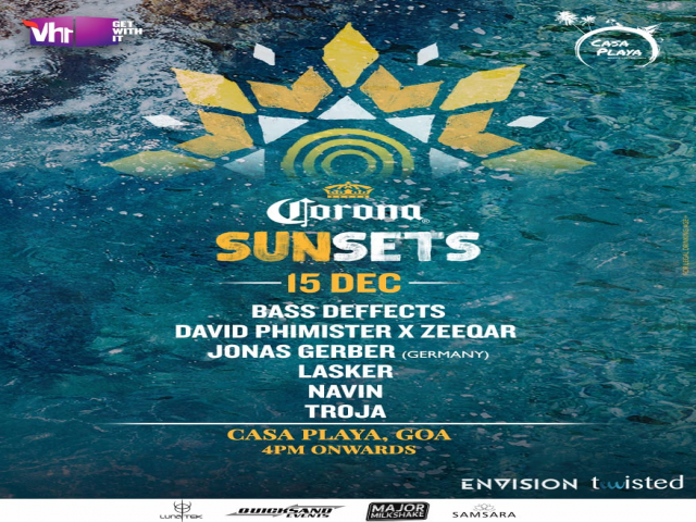 Corona Sunsets Goa