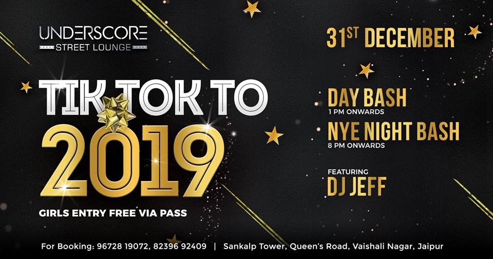 Tik Tok to 2019 - New Year Celebration