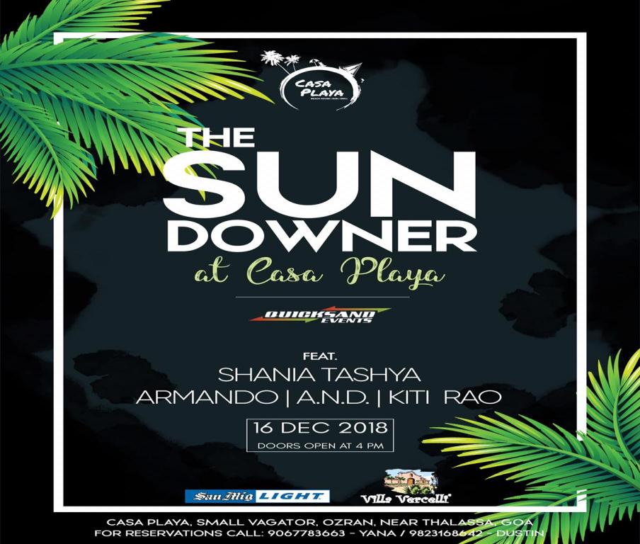 The Sunday Sundowner at Casa Playa