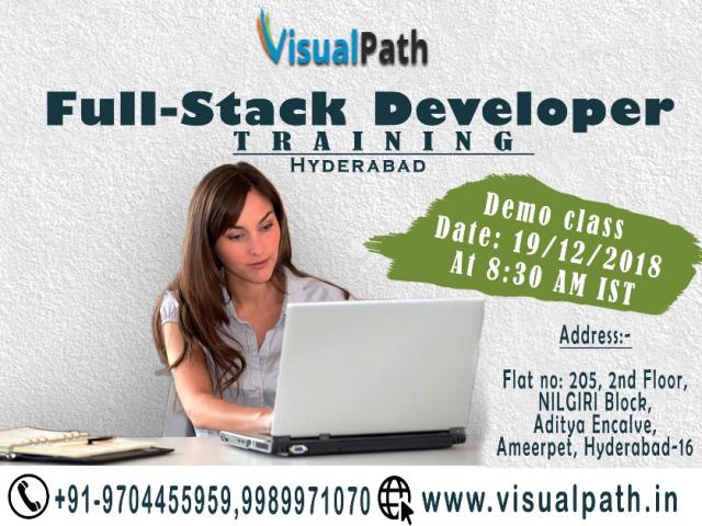 Full Stack Training institute | Full Stack Web Developer Training In Hyderabad