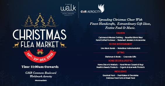 Calling Christmas Early with Christmas Flea Market at The Walk by Worldmark