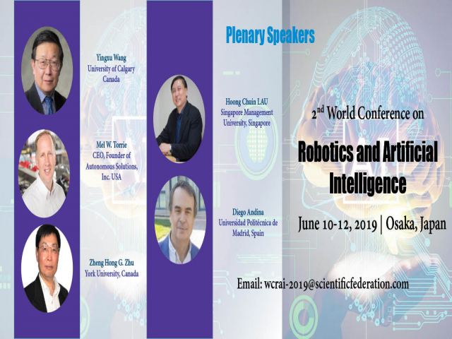 2ND WORLD CONFERENCE ON ROBOTICS & ARTIFICIAL INTELLIGENCE