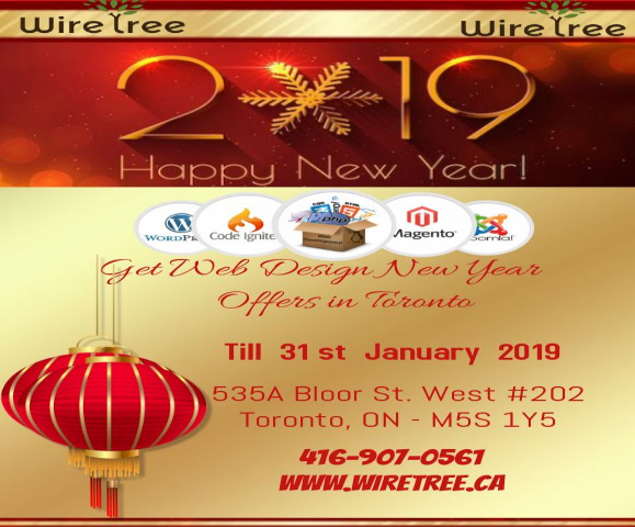Get Web Design New Year Offers in Toronto