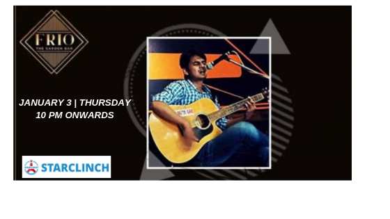 Muzaffer - Performing LIVE at 'Frio The garden bar' Delhi