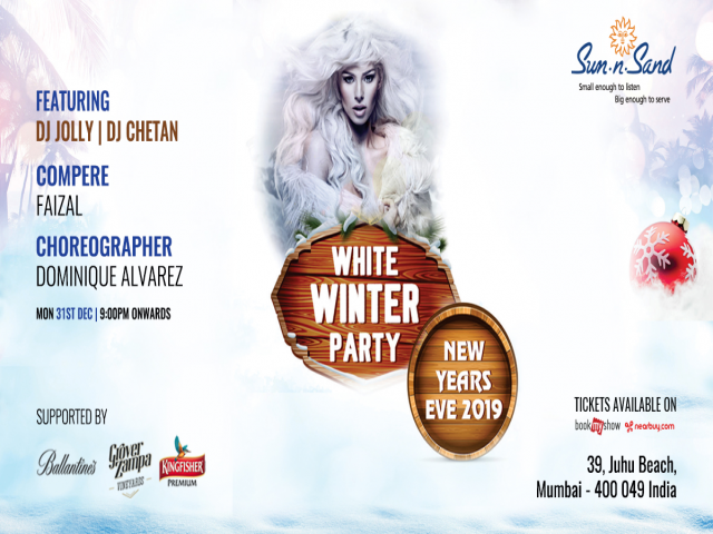 White Winter Party New Year's Eve Bash
