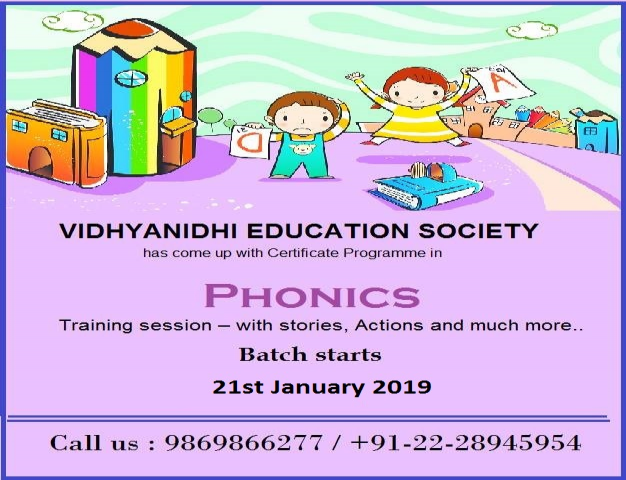 Phonics Teachers' Training Programme (weekdays)