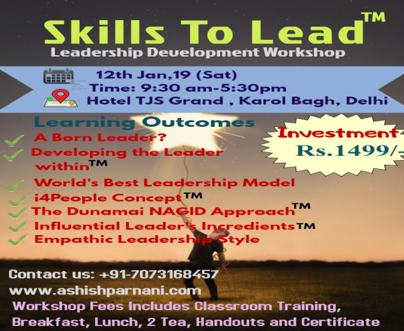 Skills to Lead - Leadership Development Workshop
