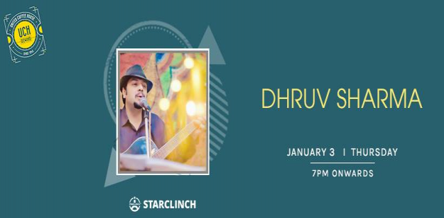 Dhruv Sharma performing LIVE at 'UCH REWIND' GURUGRAM
