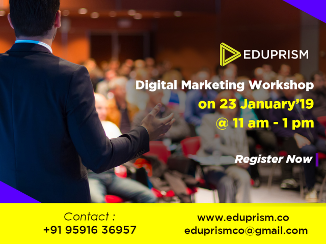 Digital Marketing Free Workshop