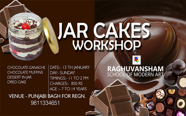 Jar Cakes Workshop
