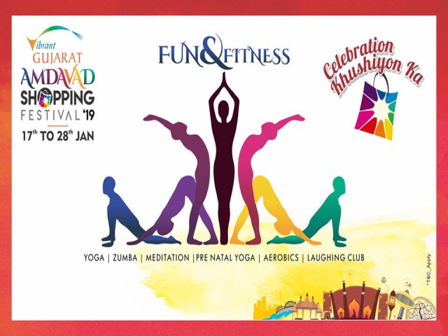 Fun and Fitness by Amdavad Shopping Festival