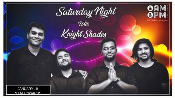 Knight Shades - Performing LIVE at 'AMPM Cafe & Bar' Galleria