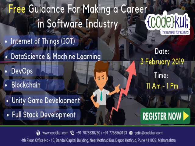 Free Career Guidance for making a career in Software Industry.