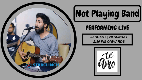 Not Playing - Perfotming LIVE At 'Te Amo' Ansal Plaza